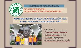 Copy of PROYECTO ABASTECIMIENTO DE AGUA