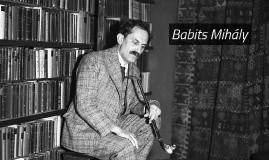 Babits Mihály életútja