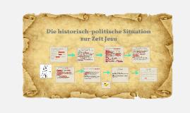 Die historisch-politische Situation zur Zeit Jesu
