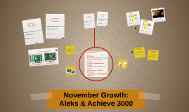 November Growth: