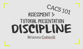 ASSESSMENT 3: TUTORIAL PRESENTATION