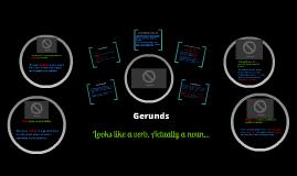 Copy of Gerunds