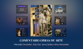 COMENTARIO OBRAS DE ARTE