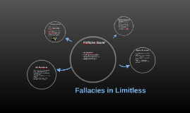 Fallacies in Limitless