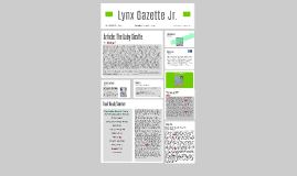 Lynx Gazette Jr. Issue 8