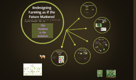 Redesigning Farming as if the Future Mattered