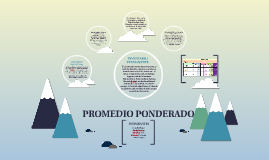 PROMEDIO PONDERADO
