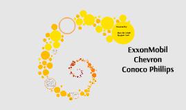 ExxonMobil, Chevron, ConocoPhillips