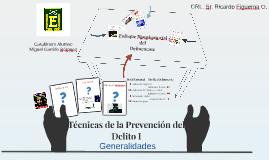 Generalidades de las Técnicas de la Prevención del Delito I (Introducción 2)