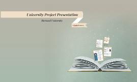 University Project Presentation