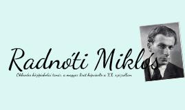 Copy of Radnóti Miklós