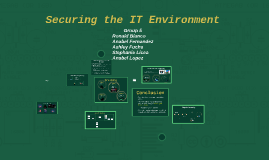 Securing the IT Environment