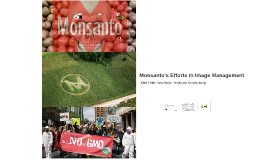 Case Study on Monsanto's Efforts in Image Management