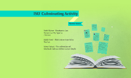 Isu  Culminatimg Activity