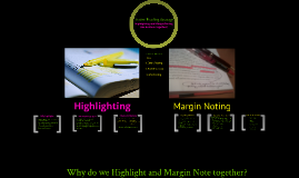 Highlighting and Margin Notes