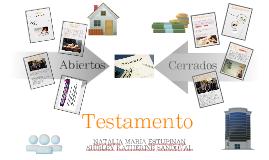 Testamento abierto y cerrado