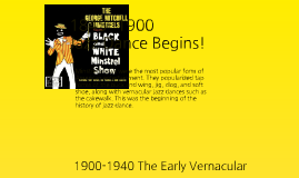 History of Jazz Dance