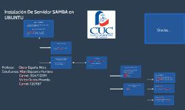 Instalación De Servidor SAMBA