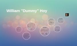"Copy of William ""Dummy"" Hoy"