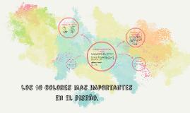 Los 10 colores mas importantes