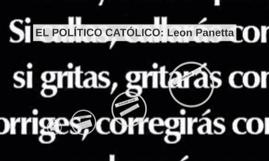 EL POLÍTICO CATÓLICO: Leon Panetta