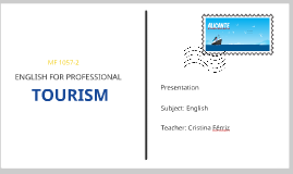ENGLISH FOR PROFESSIONAL TOURISM