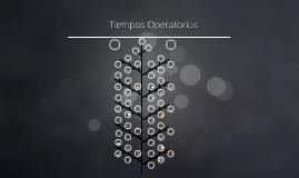 Tiempos Operatorios