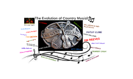 The Evolution of Country Music