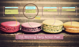 CLL Working Party Action Plan