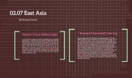 02.07 East Asia