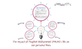 The impact of Prophet Mohammed's life on our personal lives