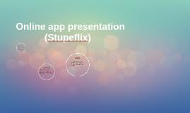 Online app presentation