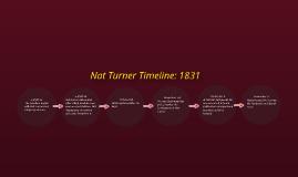 Nat Turner Timeline