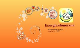 Copy of Energia słoneczna
