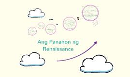 Copy of Ang Panahon ng Renaissance