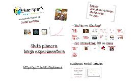 Sluta planera, börja experimentera