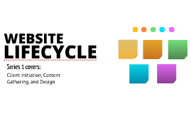 Website Lifecycle - Series 1