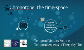 Chronotope: the time-space