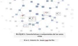 BIOLOGIA 1.BLOQUE 2. CARACTERISTICAS DE LOS SERES VIVOS