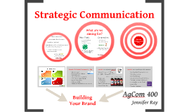 Strategic Communication