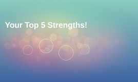 Your Top 5 Strengths!
