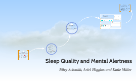 Copy of Sleep Quality and Mental Alertness