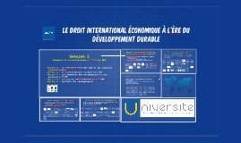 Semaine 2 - Commerce et investissements à l'ère des ODD