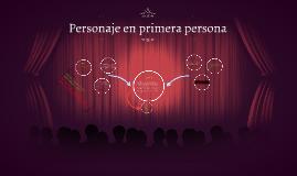 Personaje en primera persona