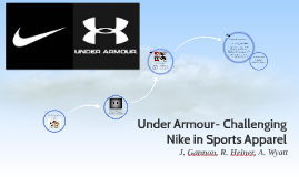 Under Armour- Challenging Nike in Sports Apparel