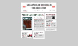 THEORIES AND PRINCIPLES OF MEDIAMORPHOSIS AND TECHNOLOGICAL