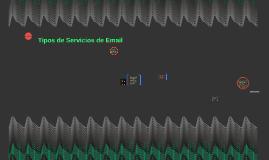 Tipos de Servicios de Email