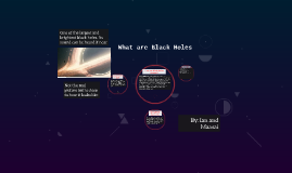 What are Black Holes