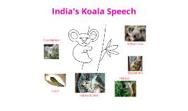 Copy of India's Koala Prezi