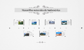Copy of Maravillas naturales de America del Sur